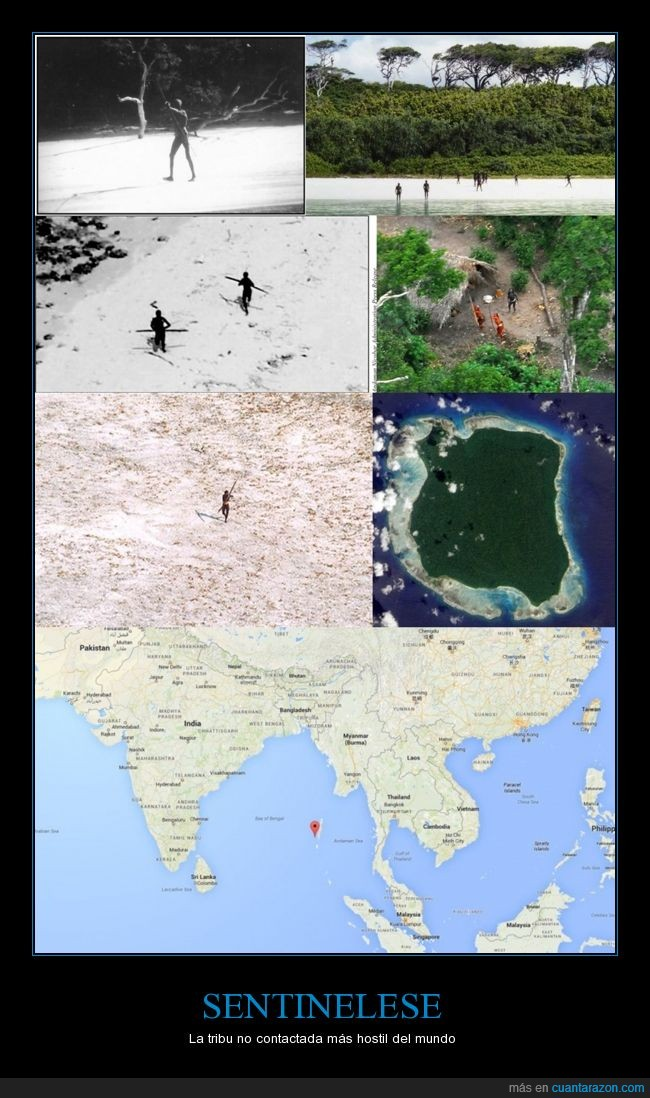 habitantes de 50 a 400 personas,idioma no identificado,isla,no aceptan visitas,Oceano indico,tribu