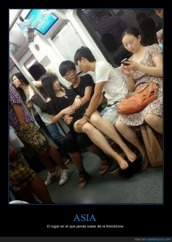 aguantar,amigo,asiento,coger,encima,friendzone,novio,testigos,tren