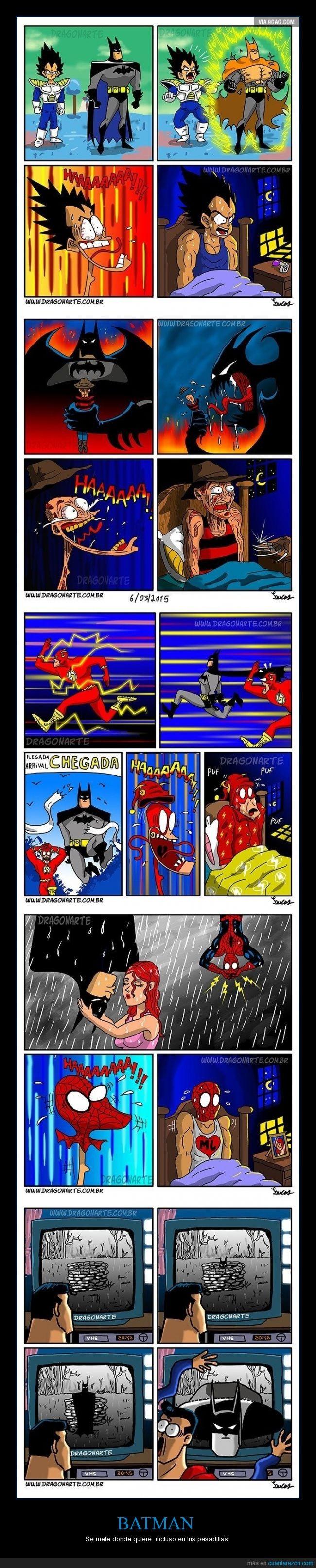 batman,colar,flash,miedo,pesadillas,sueño,superman,the ring,vegeta