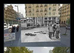 Enlace a Imágenes de Madrid antes y ahora gracias a este efecto usado con Google Maps