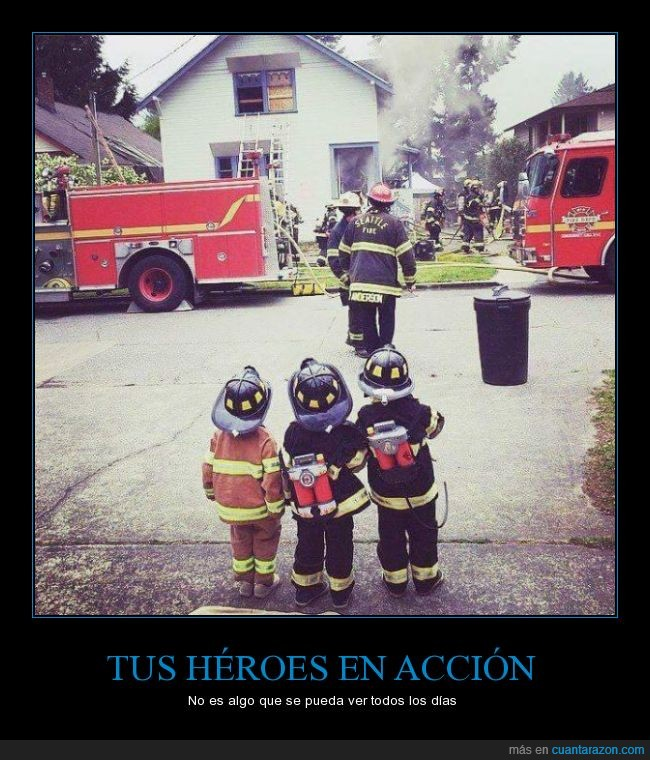 bombero,disfraz,emocion,feliz,heroe,incendio,niño,traje