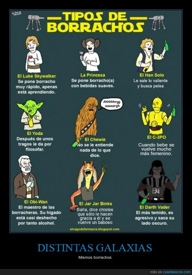 alcohol,borracos,galaxia,LadoOscuro,StarWars