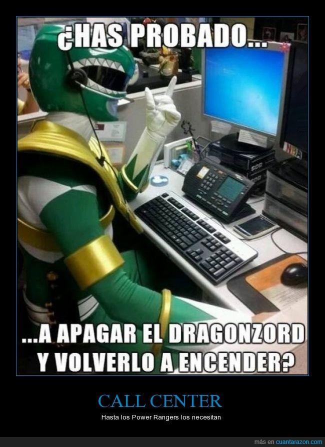 ayuda,call center,dragonzord,llamar,pedir,power ranger,verde