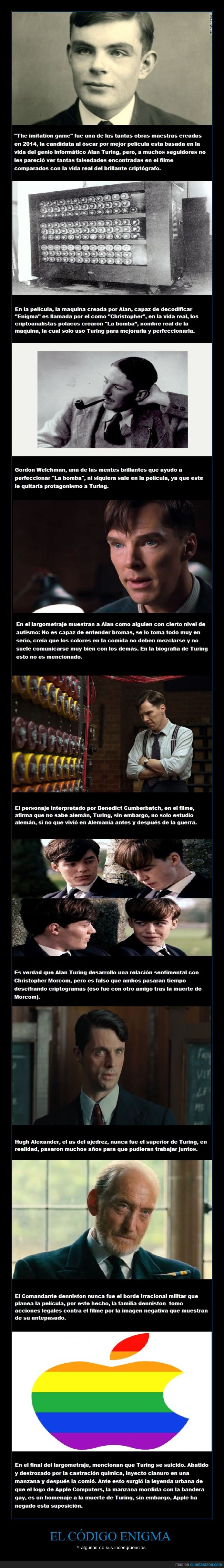 alan turing,apple,benedict cumberbatch,Codigo enigma,The imitation game