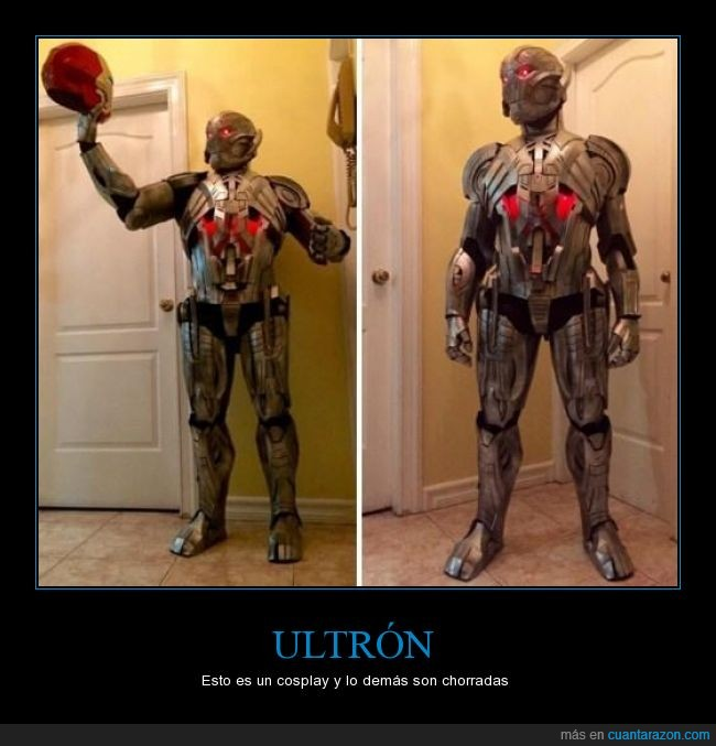 Cosplay,Los vengadores,the avengers,ultron