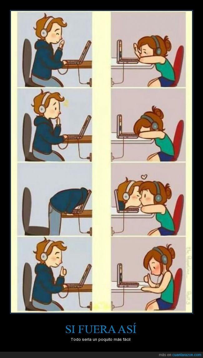 amor,animo,beso,distancia,mejor,novia,novio,ordenador,pareja,relacion,triste