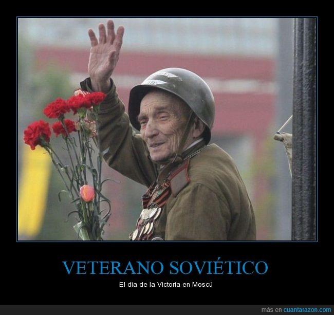 2gm,casco,guerra,rosas,rusia,union sovietica,veterano