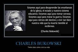 Enlace a CHARLES BUKOWSKI