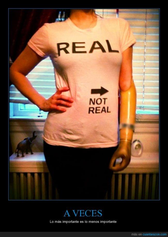 brazo,camiseta,chica,flecha,miembro,no,protesis,real