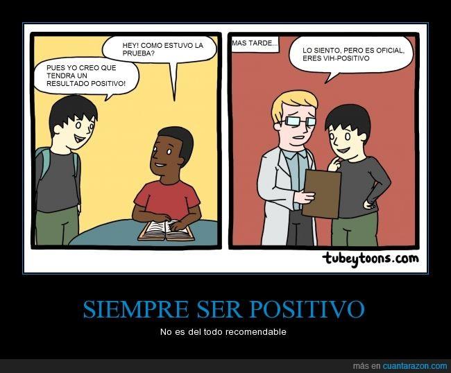 amigo,doctor,enfermo,HIV,positivo,resultado,sida,toons,VIH