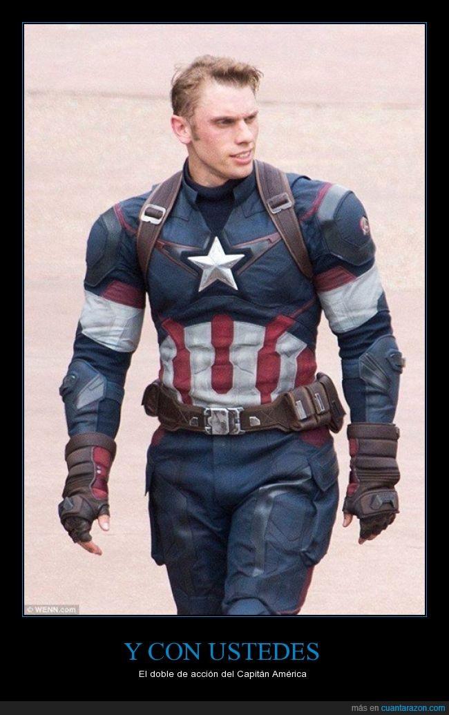 acción,actor,Capitán America,doble,escena,peligro,riesgo,stunt