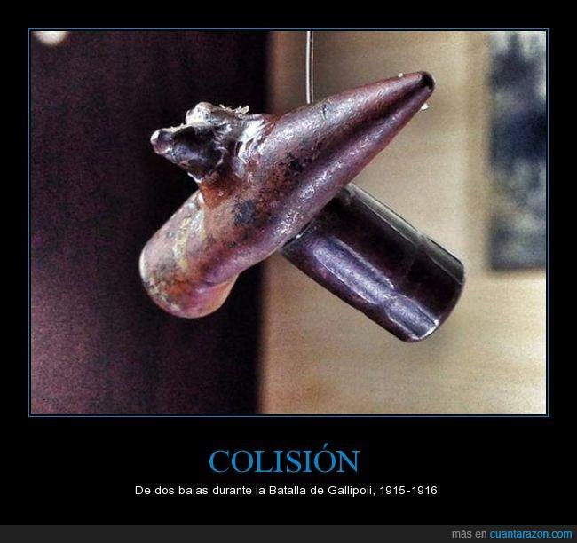 balas,batala,coincidencia,coincidir,curioso,guerra,museo,napoli