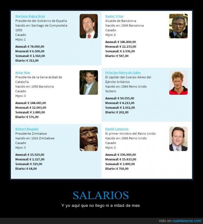 dinero,familia,ladrones,Mas,Politicos,presidente,Rajoy,real,Trias