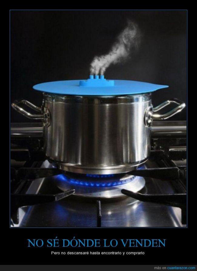 barco,chimenea,cocina,cocinar,fuego,humo,olla,tapa,vapor