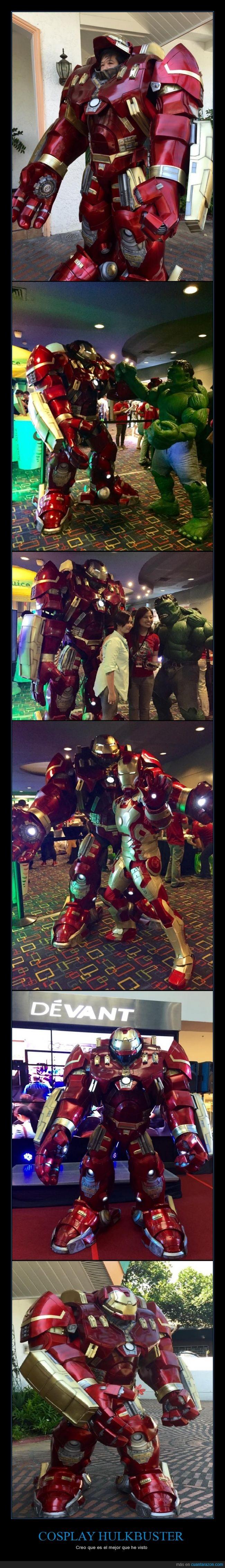 armadura,cosplay,disfraz,hulkbuster,iron,iron man,ironman,man