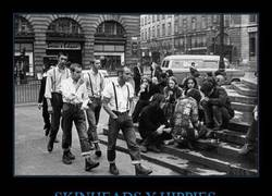 Enlace a SKINHEADS Y HIPPIES