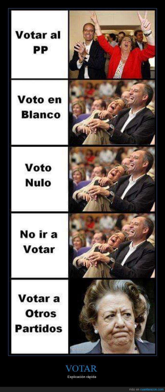 Barberá,blanco,Camps,explicación,feliz,nulo,política,PP,Rita,votacion,Votar