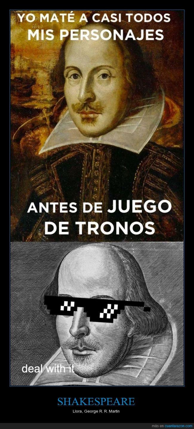 drama,game of thrones,juego de tronos,literatura,matar,muerte,muertos,obra,personajes,teatro,tragedia,troll