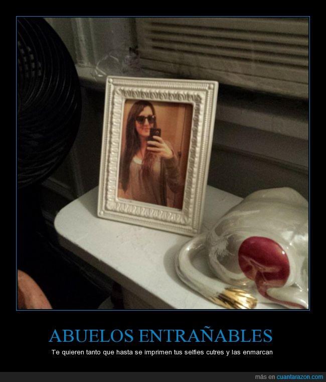 abuela,abuelo,amor,autofoto,casa,familia,foto,selfie