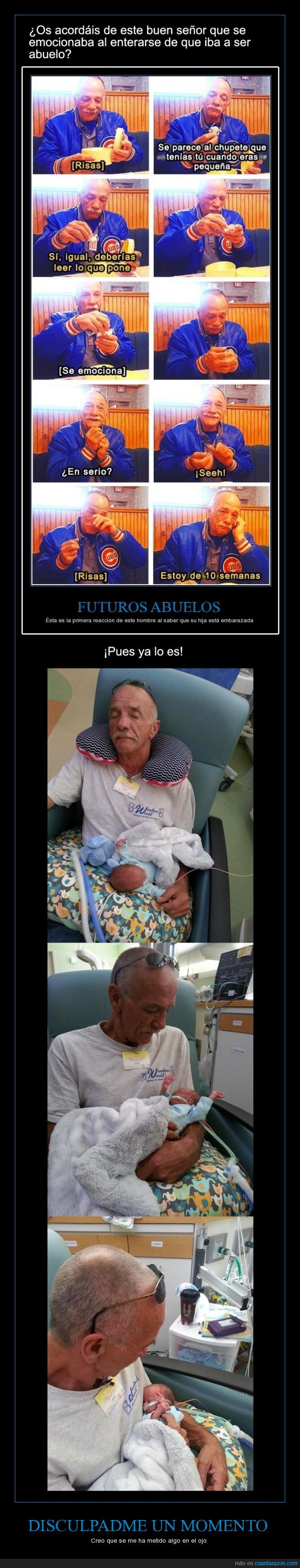 abuelo,bebe,chupete,continuacion,feliz,hija,hijo,historia,hospital,las historias felices molan,nacido,nieta,nieto,pequeño