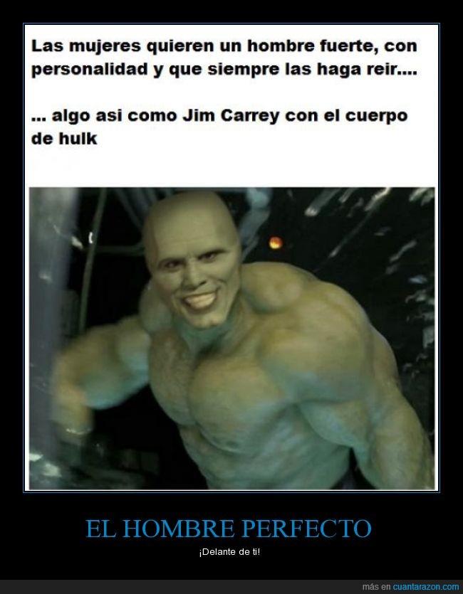 hombre perfecto,hulk,jim carrey,la masa,la mascara