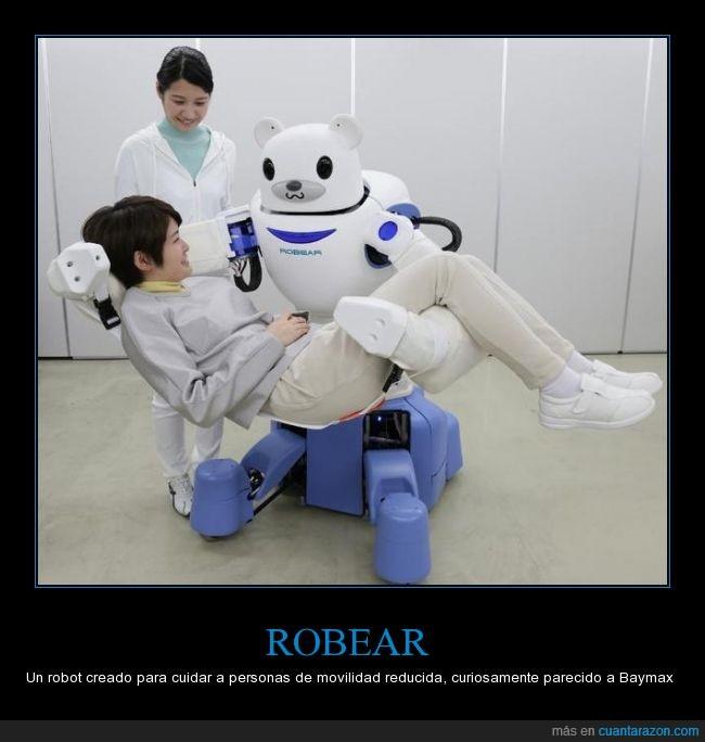 Baymax,Big Hero 6,capacidad,discapacitado,Japón,muñeco,oso,reducida,Robear,robot