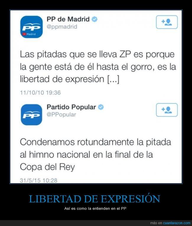Charlie hebdo un día censura el otro,españa,fútbol,libertad de expresión,pitada,política,pp,twitter