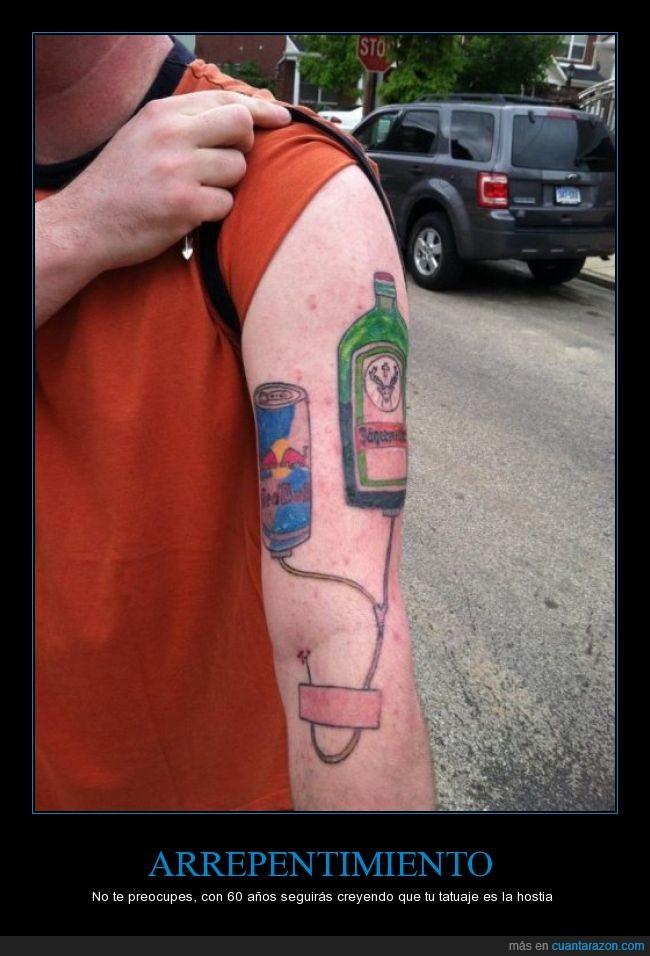 aguja,cutre,jagger,jaggerbomb,redbull,tattoo,tatuaje,vena