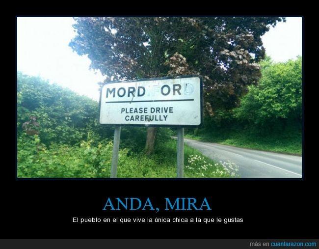 cartel,chica,fea,gustas,mordiford,mordor,nombre,orco