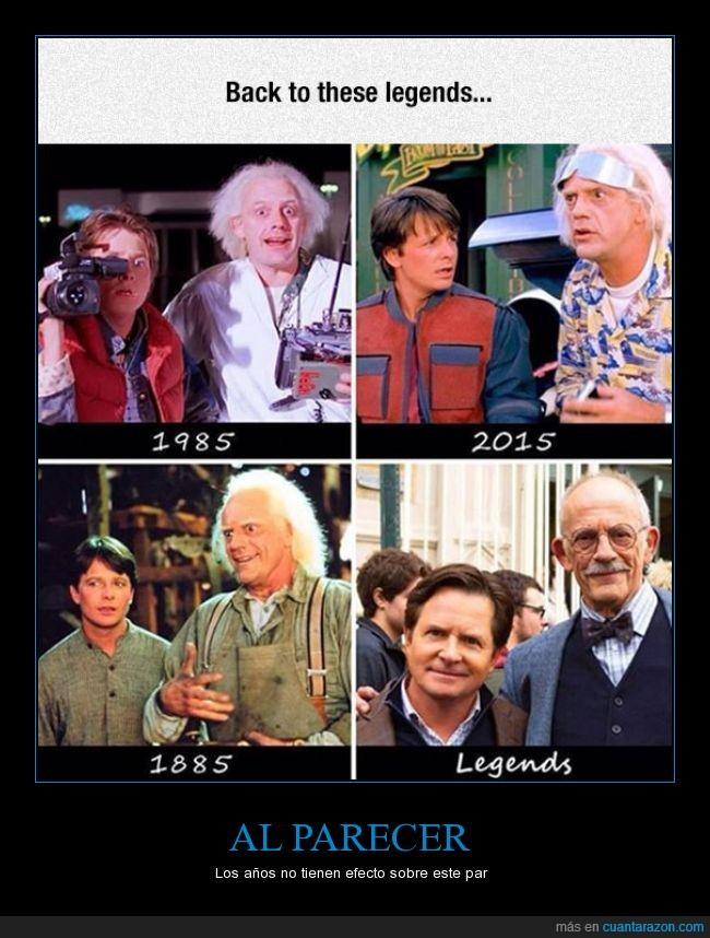 2015,back to the future,christopher lloyd,doc,inmortales,marty,Michael j fox,regreso al futuro,viajar en el tiempo
