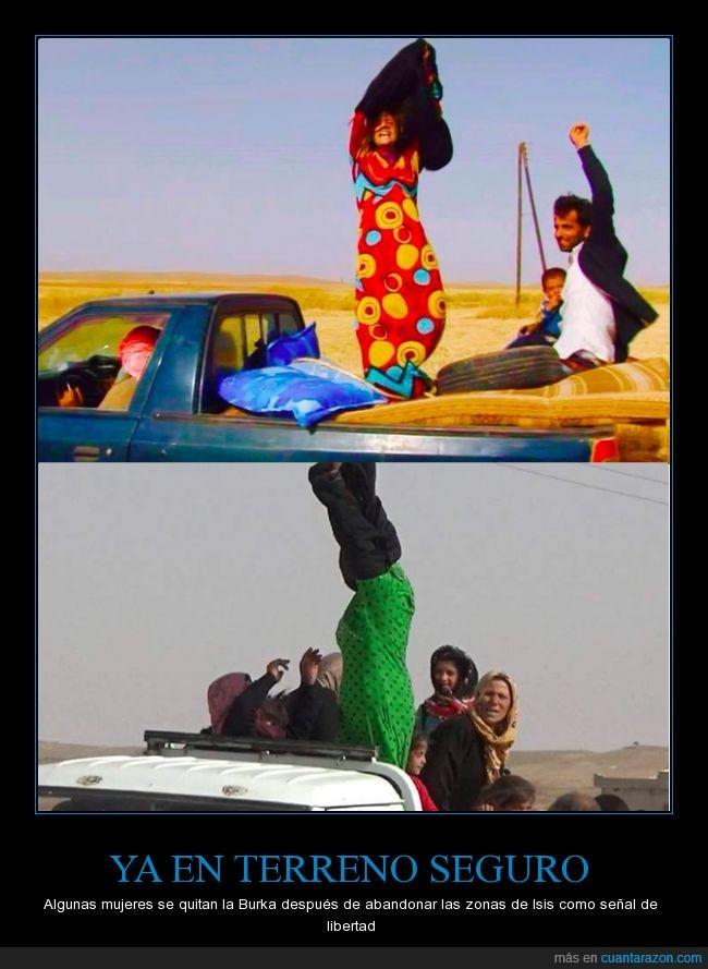 burka,guerra,isis,libertad,religion,seguro,ser libre,siria
