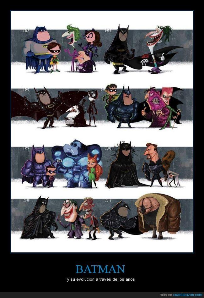 Bane,Batman,dos caras,enigma,evolución,harvey dent,Joker,pelicula,Poison Ivy,television,villano