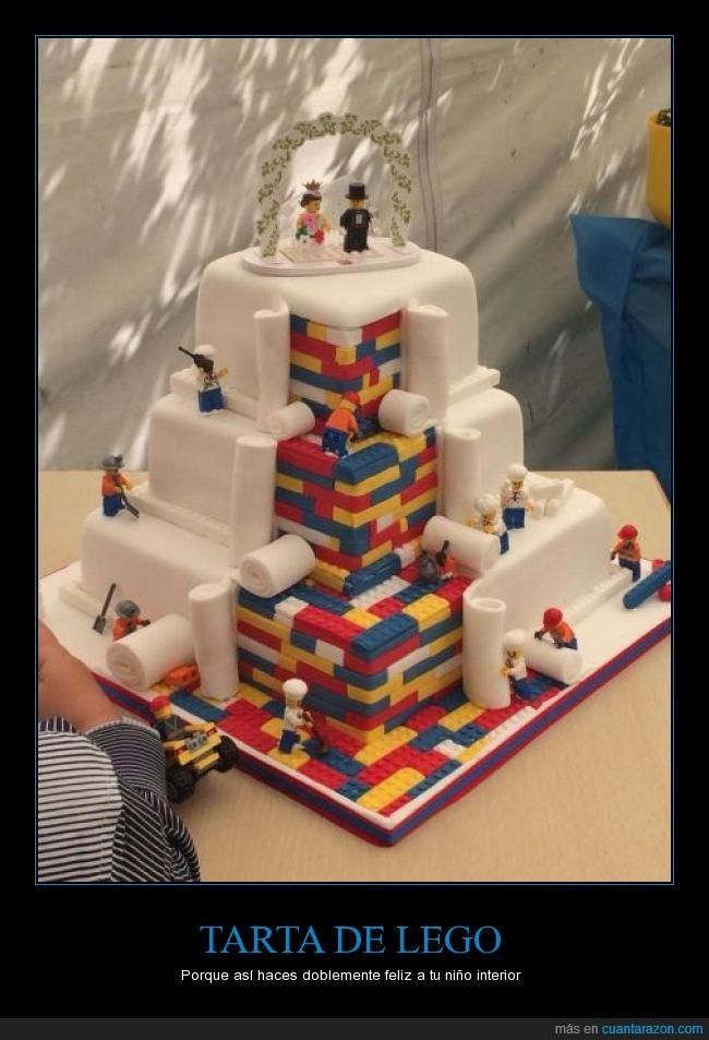 boda,lego,muñeco,pastel,pieza,tarta