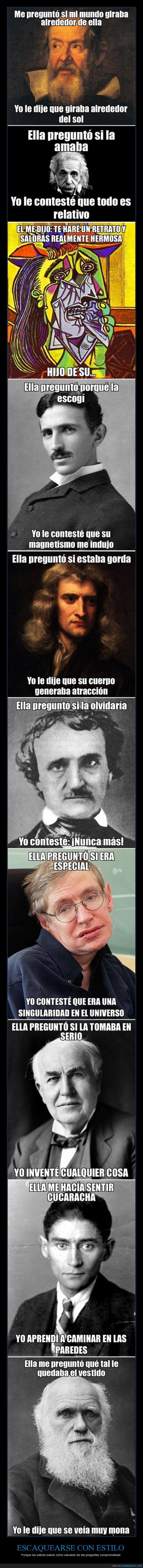 Copernico,Darwin,Edgar Allan Poe,Edison,Einstein,frases,genios,Kafka,Newton,Picasso,Stephen Hawking,Tesla