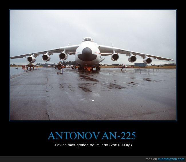 an-225,antonov,avión,enorme,gigante,pesado,record