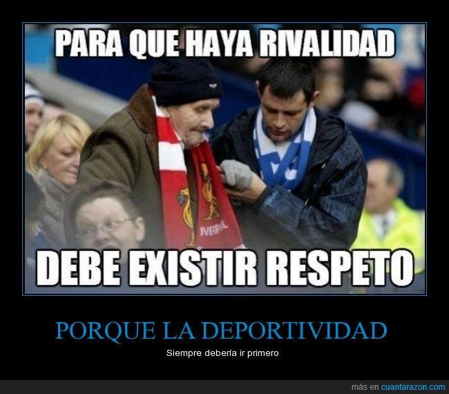 abuelo,ayuda,ayudar,deportividad,enemigo,equipo,respeto,rival,señor,sentar,sentimiento,solidaridad