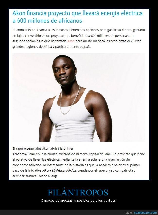 Africa,Akon,Aplausos de pie por favor,Energía limpia,Luz,música,rapero,Trabajo