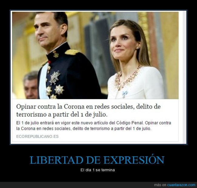 Corona,Opinar,Reyes,Terrorismo