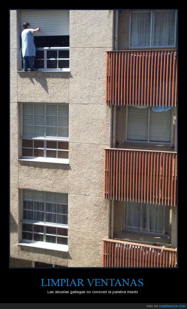 Cuánta razón! / Lo que sea por dejar las ventanas como los chorros ...
