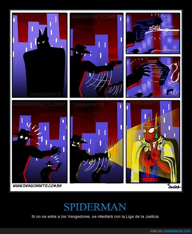 batman,capa,spiderman,todos den positivos al comentario 5 y negativos al 8,zanahorias