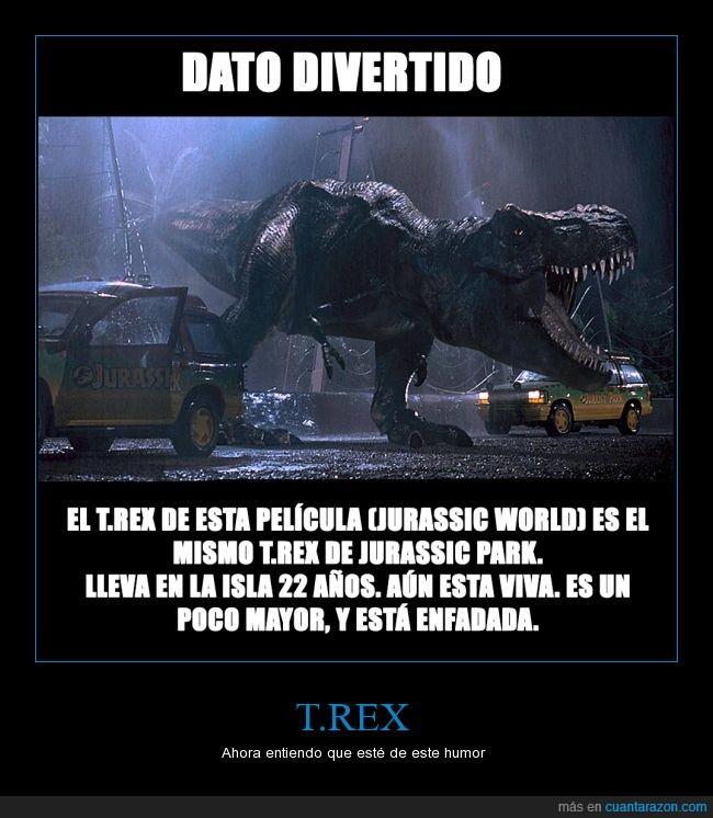 dinosaurios,jurassic park,pobre animalico,t.rex
