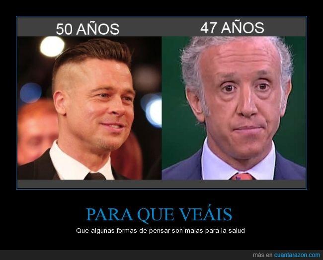 50,años,Brad Pitt,cara,edad,Eduardo Inda,el mundo,joven,marca,Prat,viejo