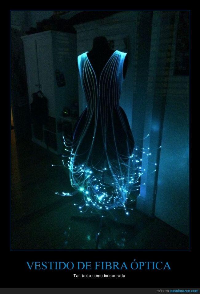cable,cuento de hadas,fibra,luz,optica,vestido