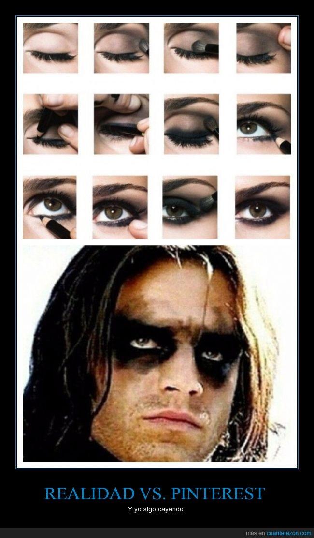 delineador,eyeliner,fail,llanero,mapache,Maquillaje,negro,ojos,sombra,todo,tutorial