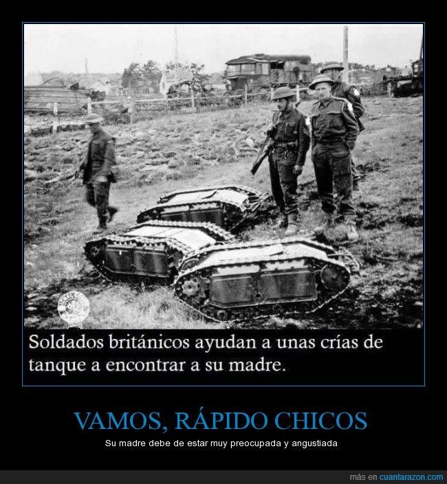 bebes,crias,guerra,madre,soldados,tanques