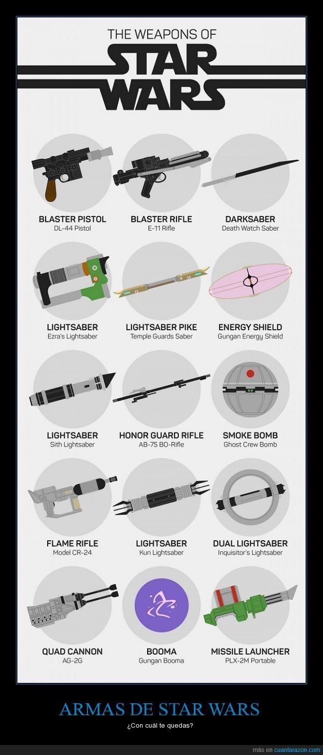armas,blaster,pistola,sable,star wars