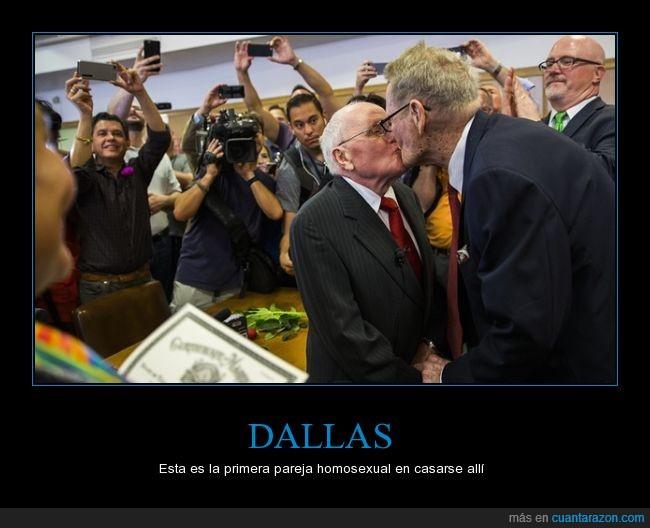50 años juntos,ancianos,Dallas,gay,igualdad,justicia,matrimonio,matrimonio homo,Texas