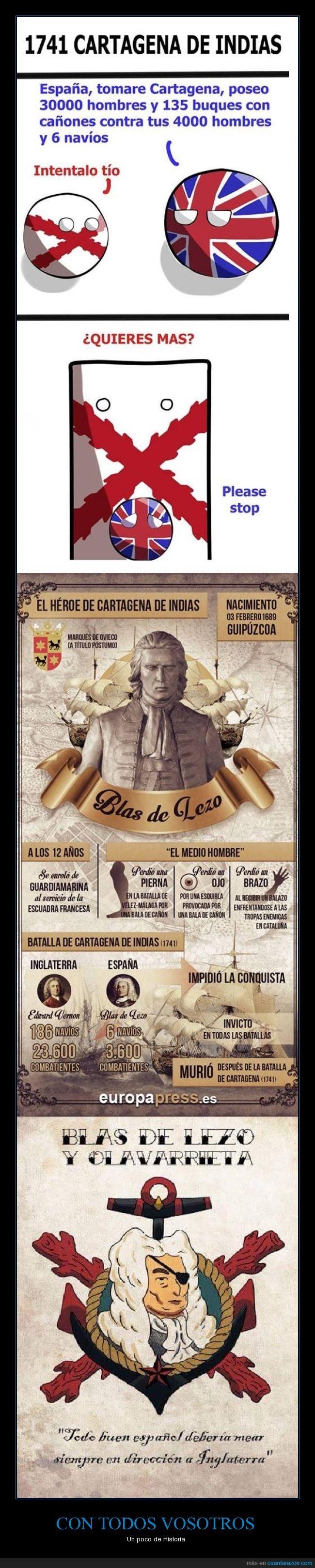Blas de Lezo,Cartagena de Indias,combatir,ejercito,España. Edward Vernon,historia,Inglaterra,salvar,soldado