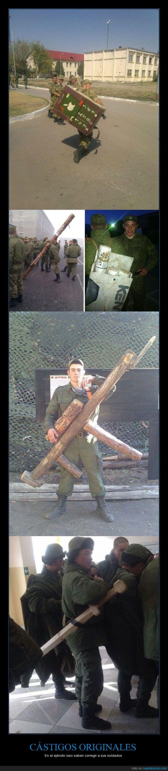 cástigos,con el móvil,ejército ruso,el Iphone está currado,fumando,originales,pillados,sin permiso