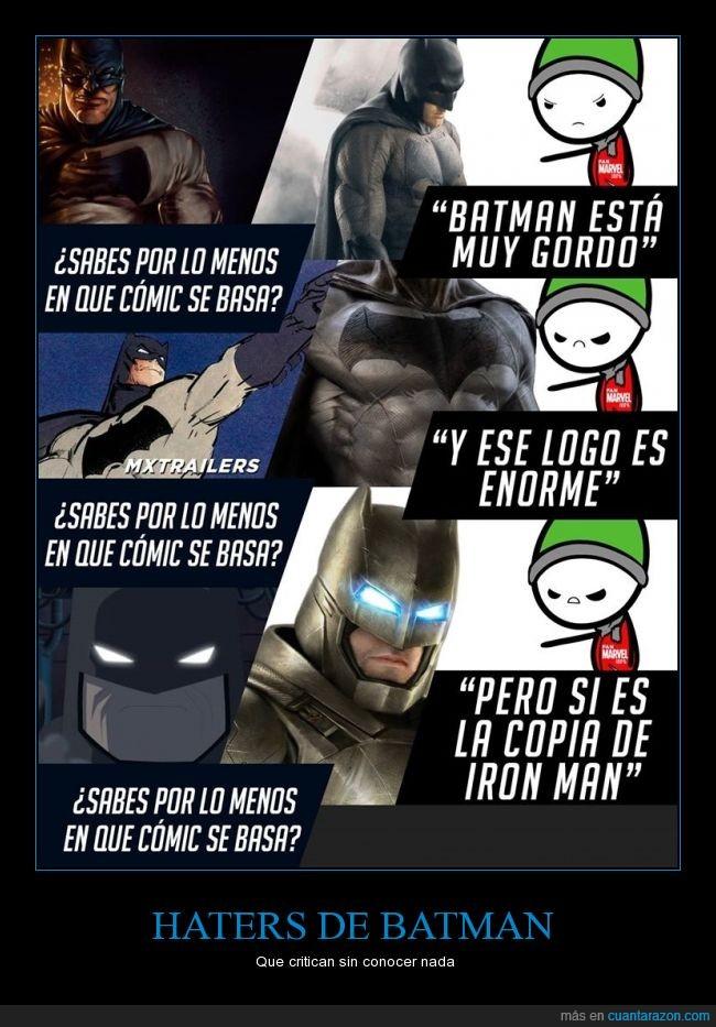 batman,ben affleck,criticar,diferente,gordo,iron man,niños rata
